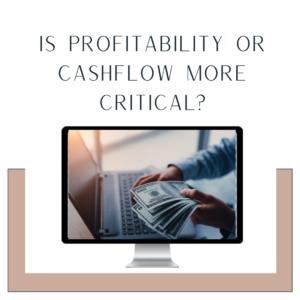 cashflow versus profitability