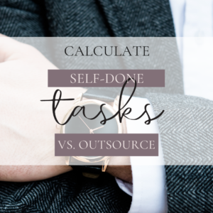outsourcing or DIY