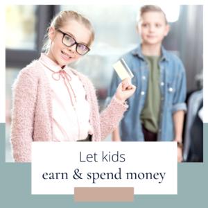 Let kids earn money