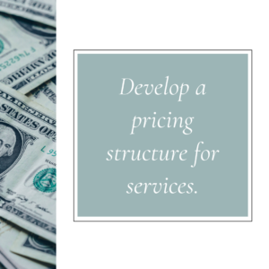 how to price services and products small business