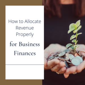 How to Allocate Revenue Properly for Business Finances