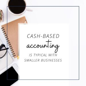 Cash Based Accounting