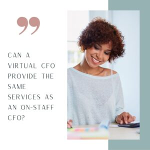 Cost of Outsourcing CFO Services