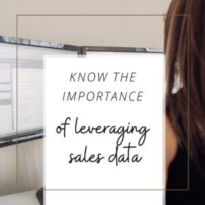 leverage sales data with Virtual CFO