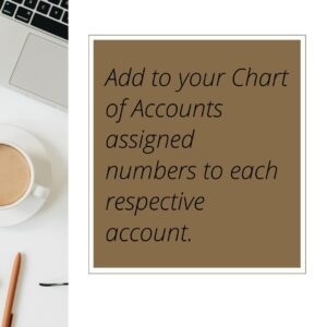 how to best use chart of accounts