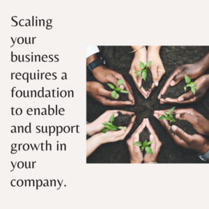 Scaling a Business Resources